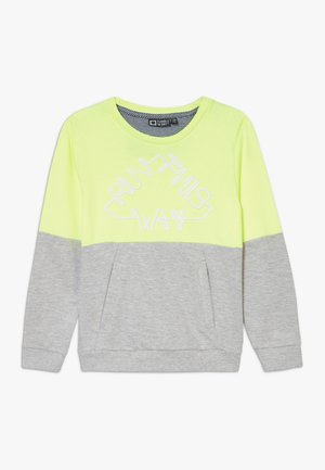 GIDAR - Sweatshirt - safety yellow