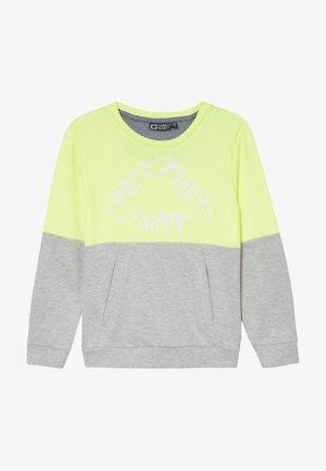 GIDAR - Sweatshirt - safety yellow