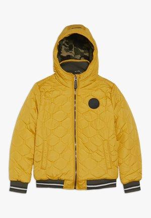 Winter jacket - golden glow