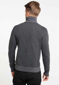 TUFFSKULL - Stickad tröja - dark grey/anthracite - 2