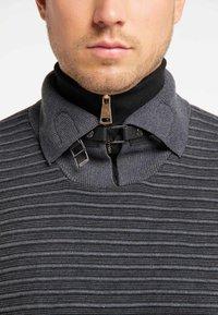 TUFFSKULL - Stickad tröja - dark grey/anthracite - 3