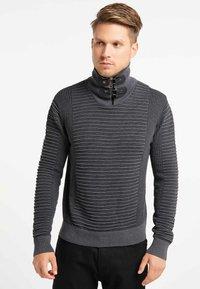 TUFFSKULL - Stickad tröja - dark grey/anthracite - 0