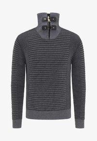 TUFFSKULL - Stickad tröja - dark grey/anthracite - 4