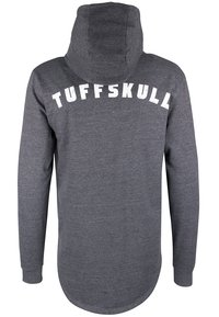 TUFFSKULL - Bluza rozpinana - dark grey melange - 1