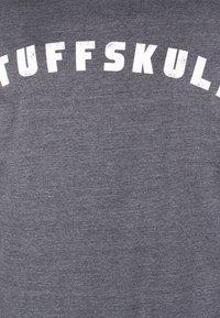 TUFFSKULL - Bluza rozpinana - dark grey melange - 5