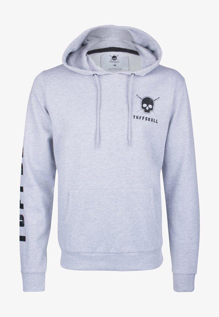 Tuffskull - Hoodie - grey melange