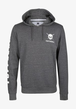 Kapuzenpullover - dark grey melange