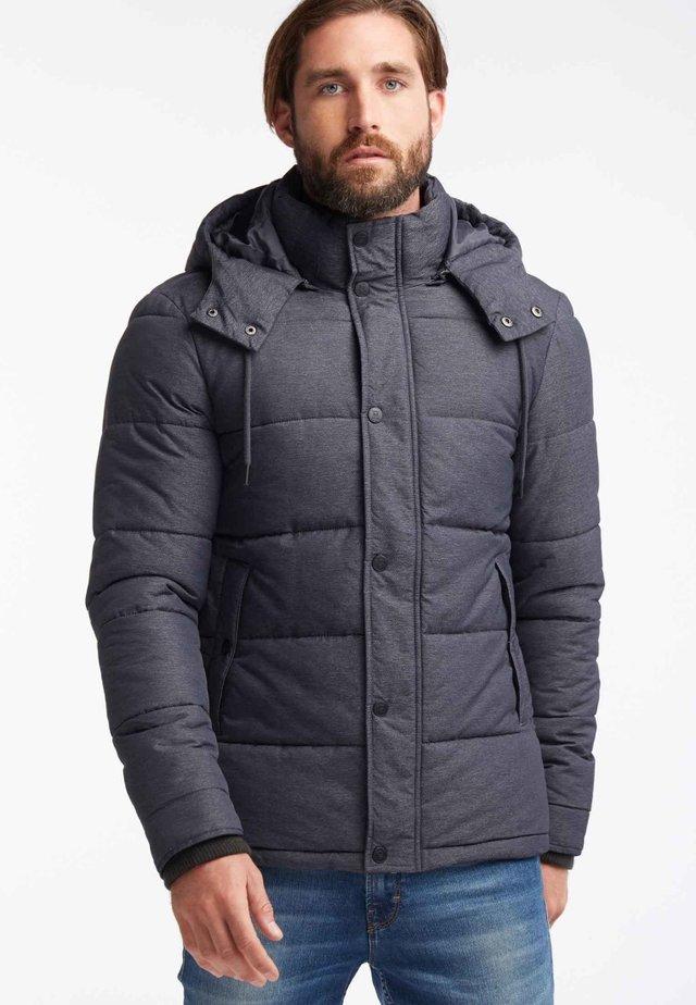 ANORAK - Veste d'hiver - mottled black