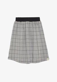 Turtledove - CHECK MIDI SKIRT - Áčková sukně - grey/black - 2