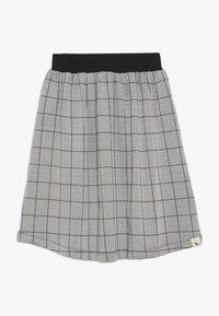 Turtledove - CHECK MIDI SKIRT - Áčková sukně - grey/black - 0