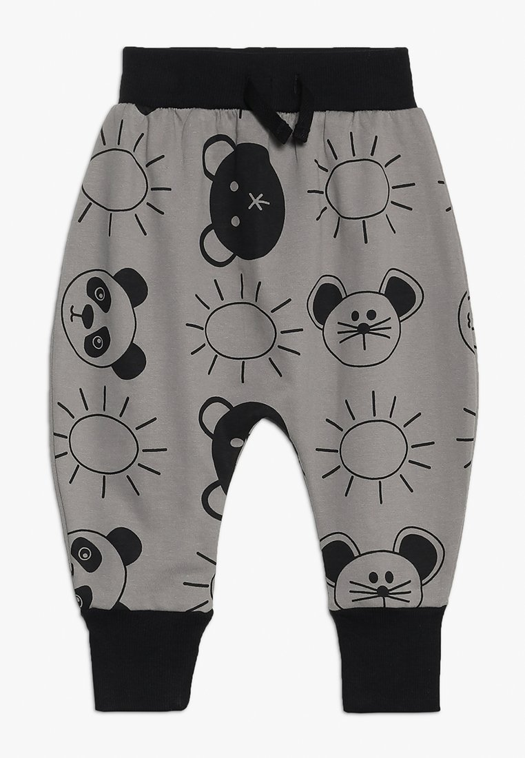 Turtledove - HAREM PANTS BEACH PALS BABY - Trousers - monochrome