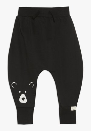 BEAR HEAD HAREMS BABY - Pantalones - black