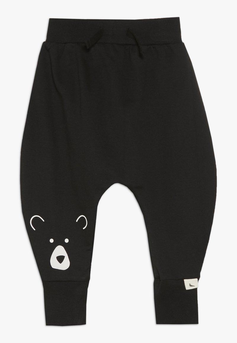 Turtledove - BEAR HEAD HAREMS BABY - Pantalones - black