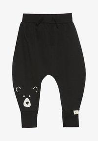 Turtledove - BEAR HEAD HAREMS BABY - Pantalones - black - 2