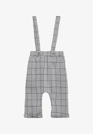 CHECK BRACER TROUSER BABY - Tuinbroek - grey/black