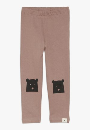 BEAR KNEE SLIM FIT - Leggings - Hosen - brick