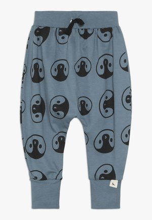 PENGUIN HEAD HAREMS - Tracksuit bottoms - denim