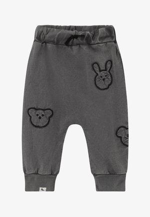 EMBROIDERED BADGE HAREMS BABY - Teplákové kalhoty - dark green