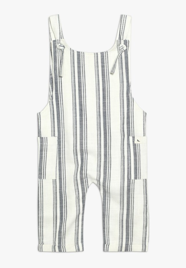 SEA STRIPE DUNGAREE - Dungarees - blue