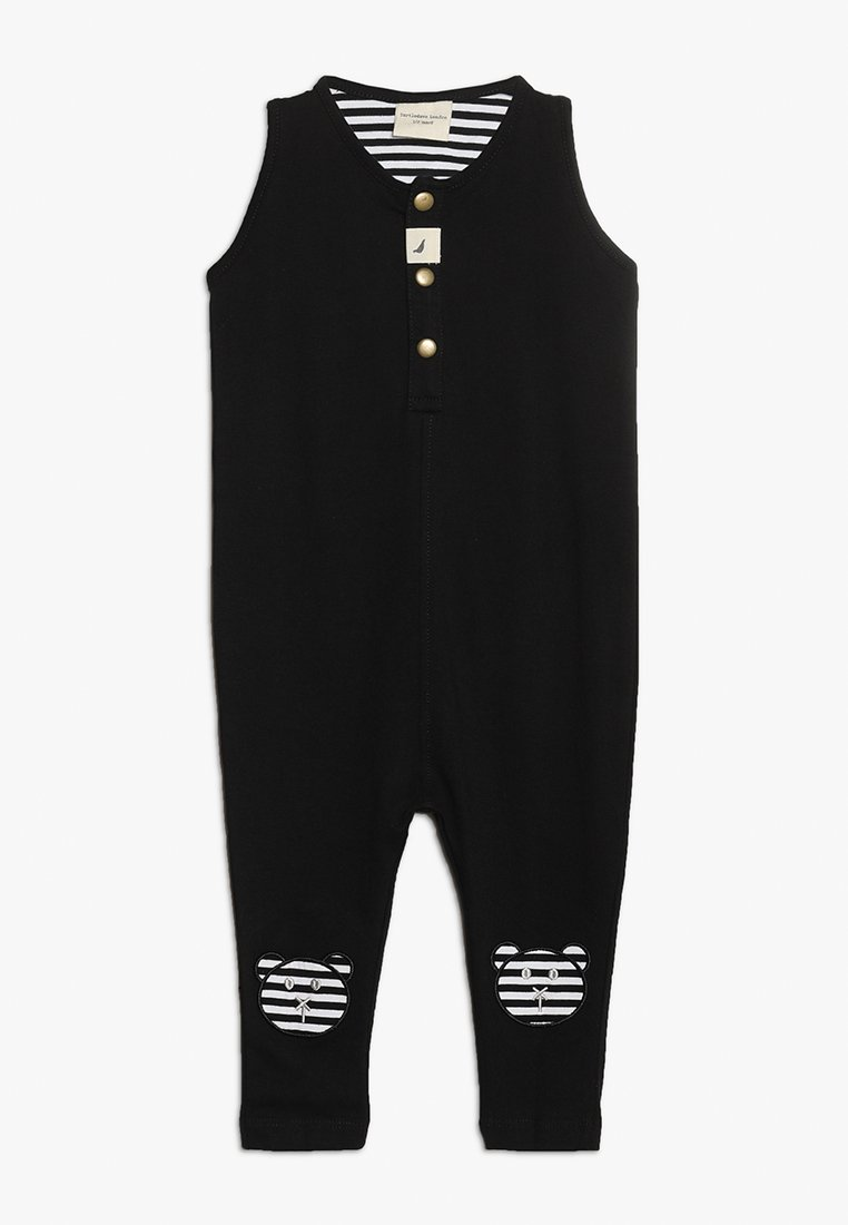 Turtledove - TANK DUNGAREE  APPLIQUE KNEES BABY - Overall / Jumpsuit - monochrome