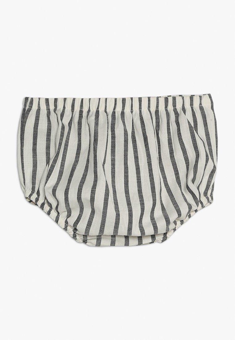 Turtledove - STRIPE PANTS BABY - Shorts - monochrome