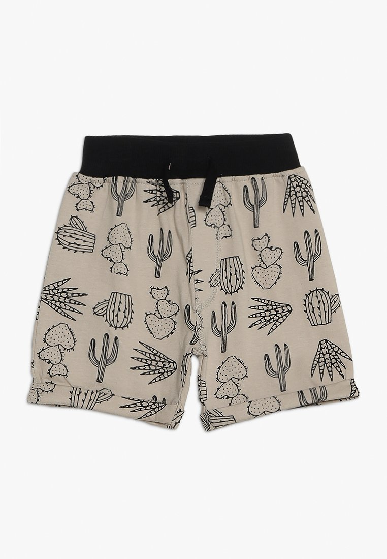 Turtledove - EASY FIT CACTUS PRINT BABY - Shorts - monochrome
