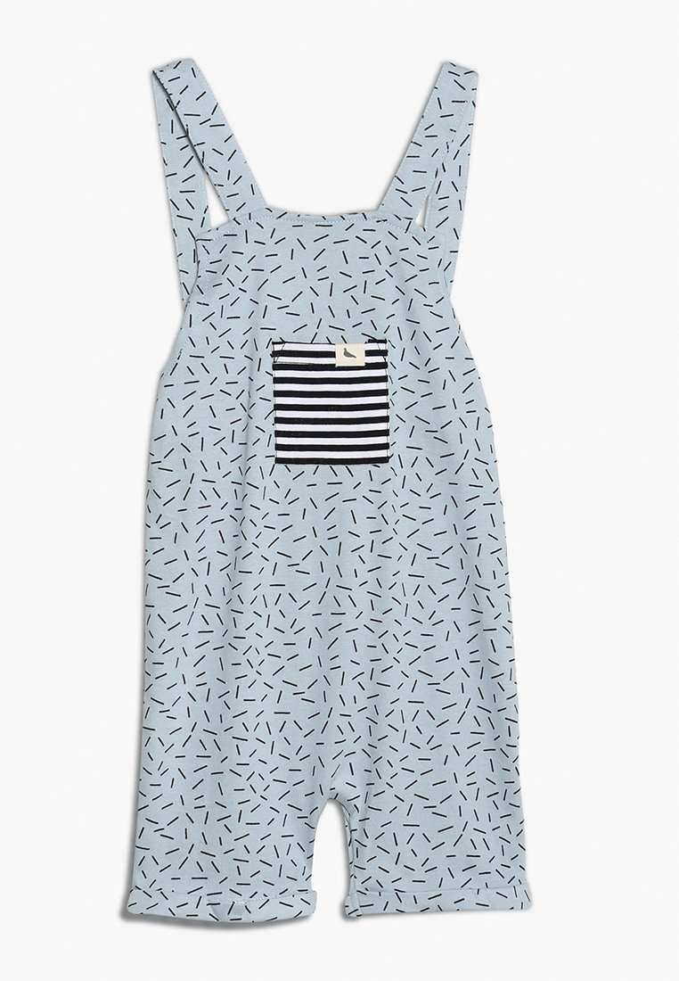 Turtledove - SHORTIE DUNGAREE SPRINKLES - Peto - light blue