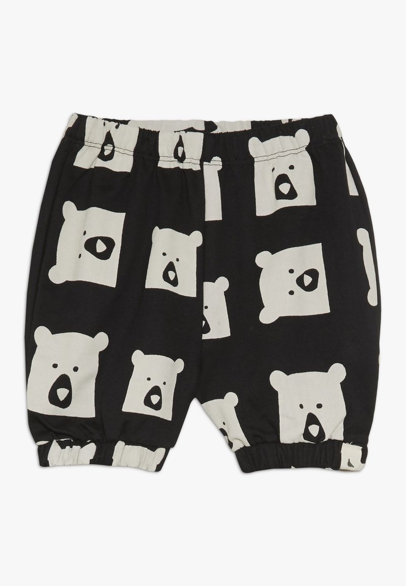 Turtledove - BEAR FAMILY BLOOMERS BABY - Shorts - black