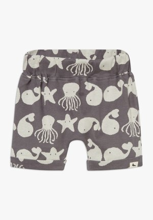 SEA FRIENDS BABY - Kraťasy - grey/white
