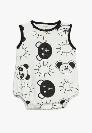 FRIENDS BUBBLE ROMPER BABY - Mono - monochrome