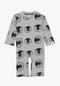 Turtledove - BEAR FAMILY PLAYSUIT BABY - Strampler - grey - 0