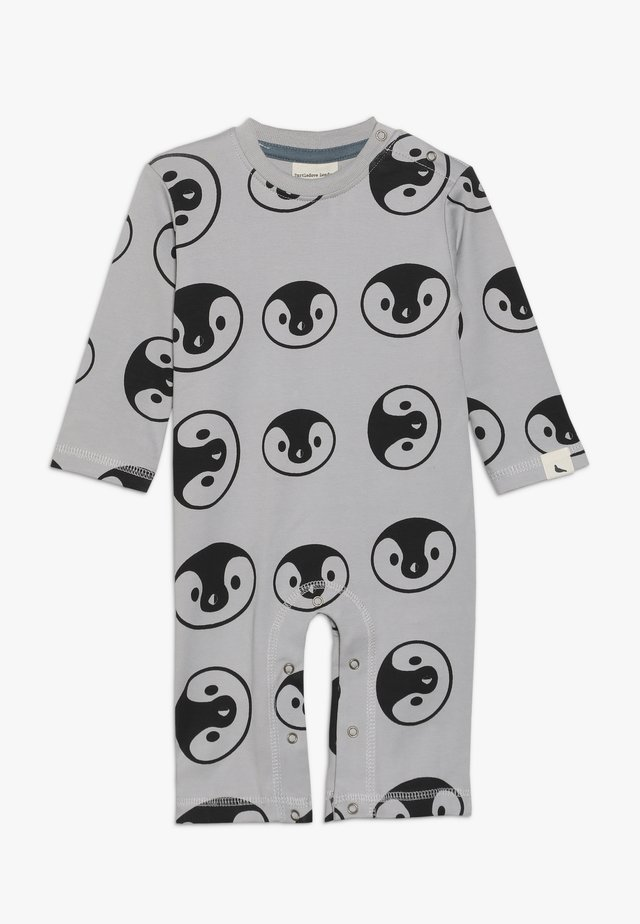 BEAR FAMILY PLAYSUIT BABY - Sleep suit - grey