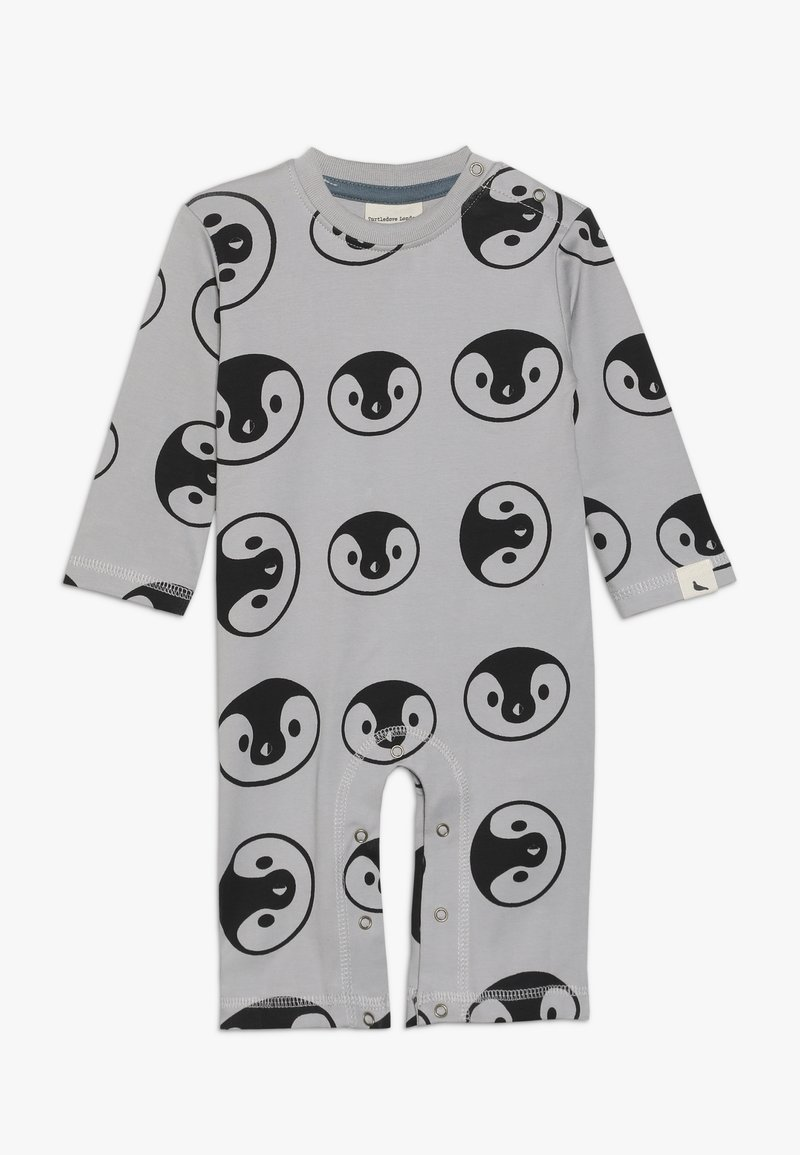 Turtledove - BEAR FAMILY PLAYSUIT BABY - Strampler - grey