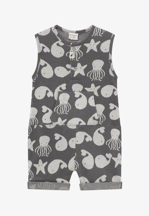 SEA FRIENDS SHORTIE TANK BABY - Haalari - grey/white