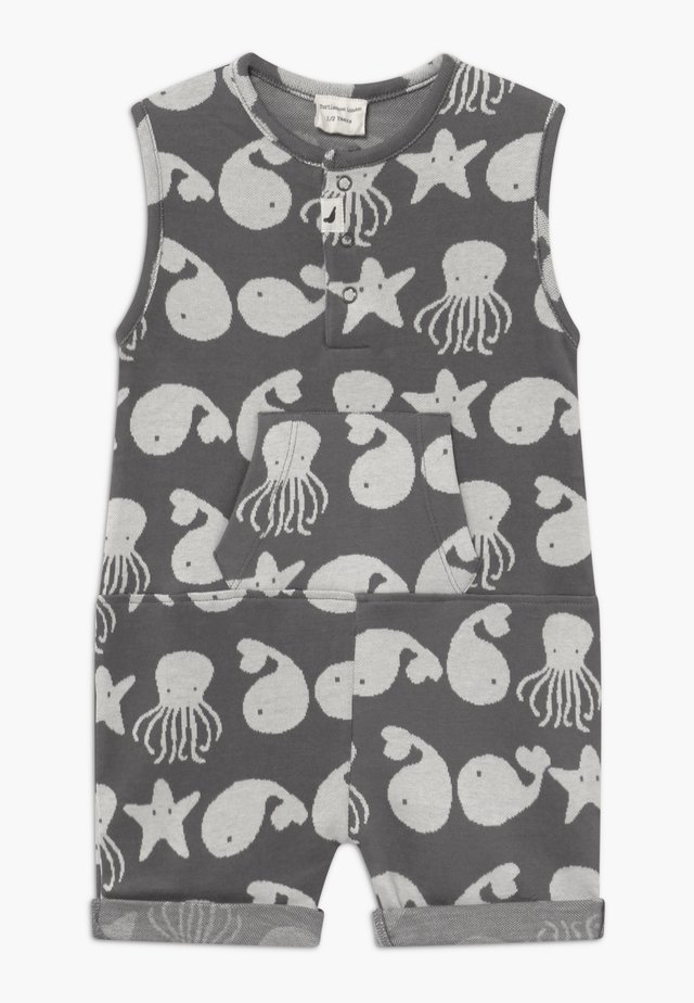 SEA FRIENDS SHORTIE TANK BABY - Haalari - grey/white