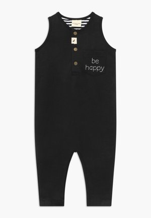 BE HAPPY TANK DUNGAREE BABY - Jumpsuit - black