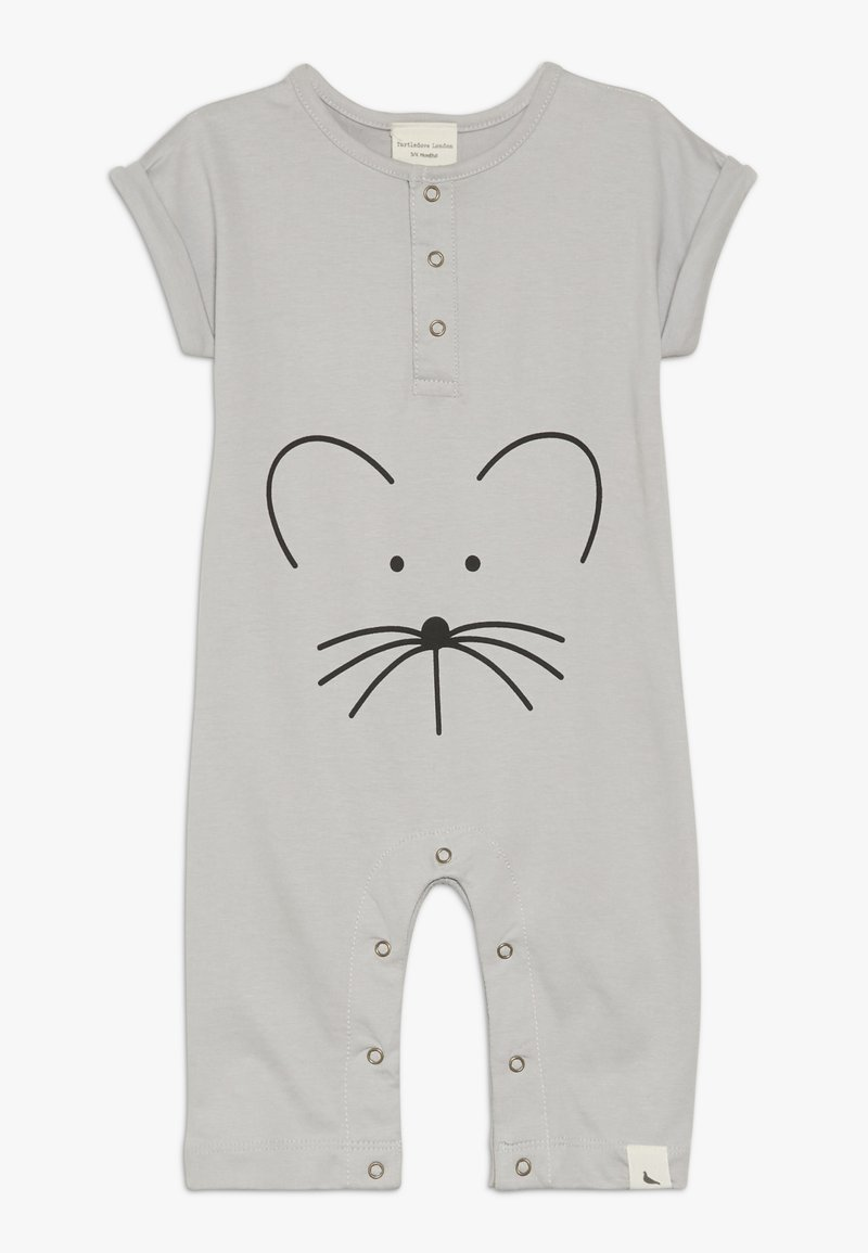 Turtledove - MOUSE FACE PLAYSUIT BABY - Body - grey
