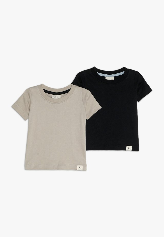 LAYERING BABY 2 PACK - T-shirt med print - monochrome