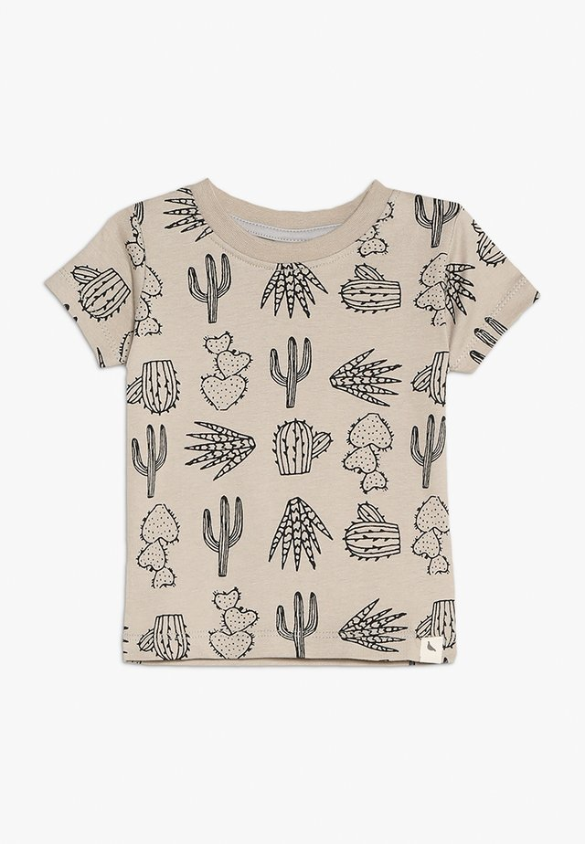 CACTUS PRINT BABY - Print T-shirt - monochrome