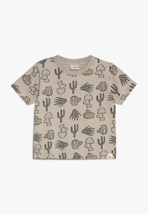 CACTUS PRINT - Print T-shirt - monochrome