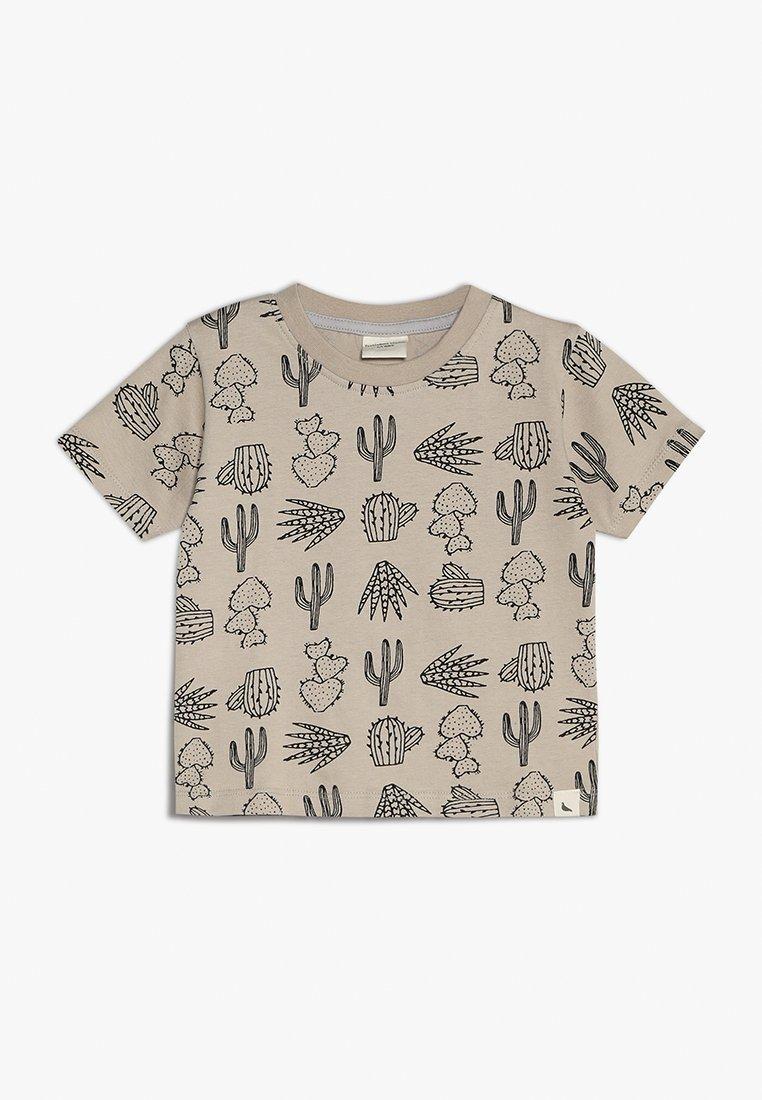 Turtledove - CACTUS PRINT - Print T-shirt - monochrome