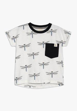 LONG LENGTH DRAGONLY  - T-shirt z nadrukiem - off white