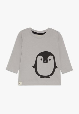 PENGUIN PLACEMENT BABY - Top s dlouhým rukávem - grey