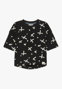 Turtledove - THE SPOT DROP SHOULDER BABY - T-shirt con stampa - black - 0