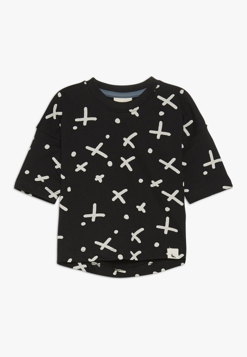 Turtledove - THE SPOT DROP SHOULDER BABY - Camiseta estampada - black
