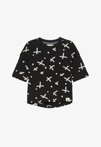 Turtledove - THE SPOT DROP SHOULDER BABY - T-shirt con stampa - black - 2