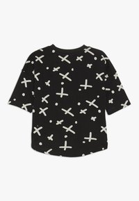 Turtledove - THE SPOT DROP SHOULDER BABY - T-shirt con stampa - black - 1