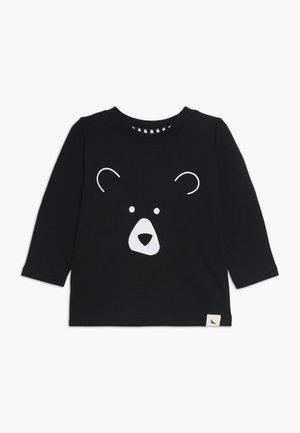 BEAR HEAD BABY - T-shirt à manches longues - black