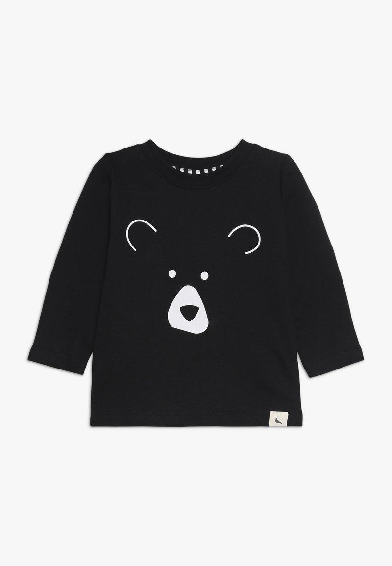Turtledove - BEAR HEAD BABY - Long sleeved top - black