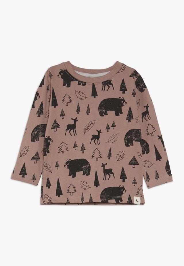 WINTER DAYS BABY - T-shirt à manches longues - brick